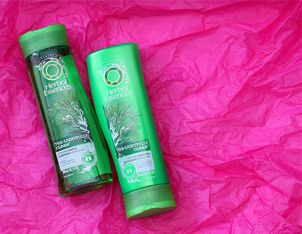 Herbal Essences Tea-Lightfully Clean Shampoo and Conditioner