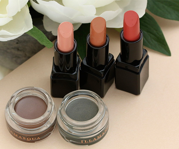 Illamasqua Vintage Metallix and Glamore Lipsticks