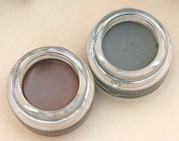 Illamasqua Vintage Metallix Eye Shadows in Embellish and Bibelot, $26 each