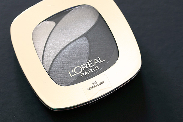 L'Oreal Paris Riche Eyeshadow in Incredible Grey (4)
