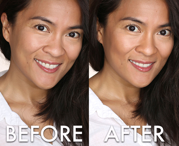 Sonia Kashuk Chic Defining Stick Before and After