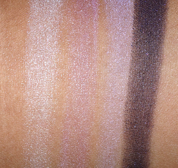 L'Oreal Paris Colour Riche Ombre Quad in Unforgettable Lilac swatches