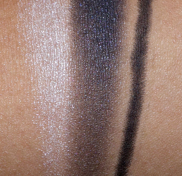 MAC Keepsakes Smoky Eye Bag swatches