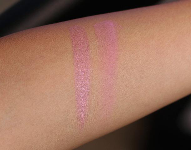 NARS Roman Holiday Lipstick (left) and Blush (right)