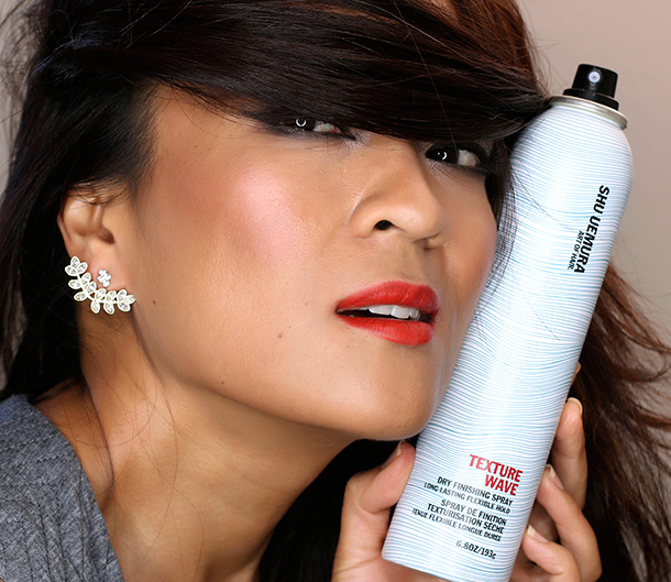 Shu Uemura Art of Hair Texture Wave Dry Finishing Spray