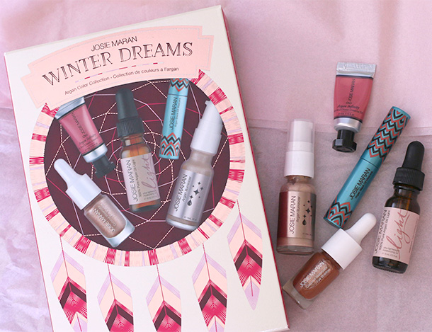 Josie Maran Winter Dreams Argan Color Collection (1)