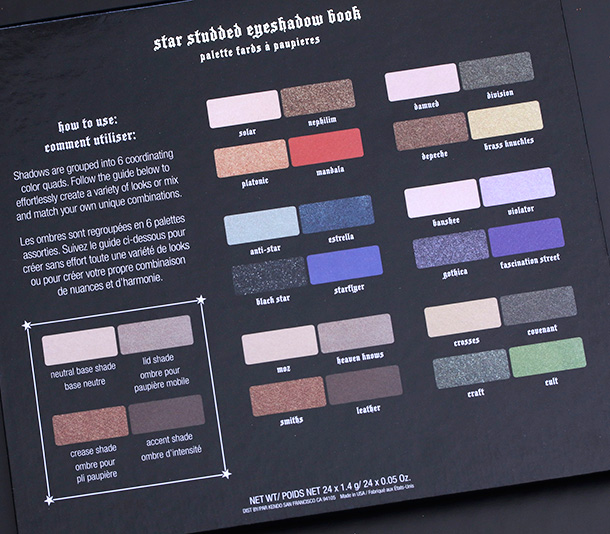 Kat Von D Star Studded Eyeshadow Book