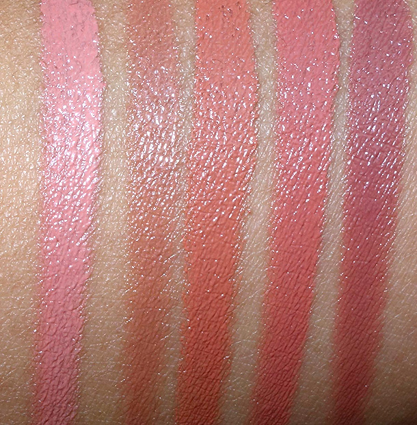 Sonia Kashuk Nude Lip Palette Jazzed Up Nudes swatches