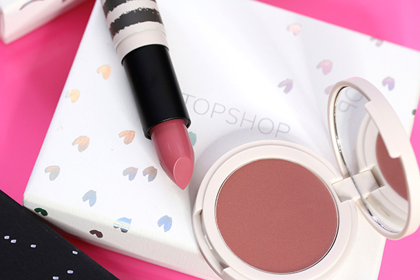 Topshop Blush Lip Duo Set with Lipstick in Innocent and Blush in Illicit