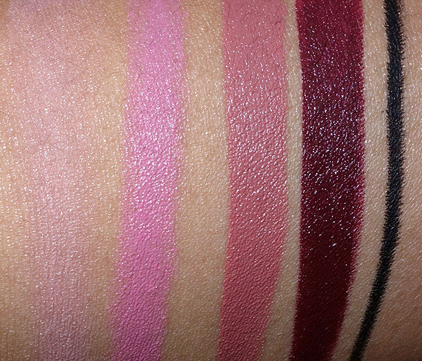 Topshop Holiday Swatches