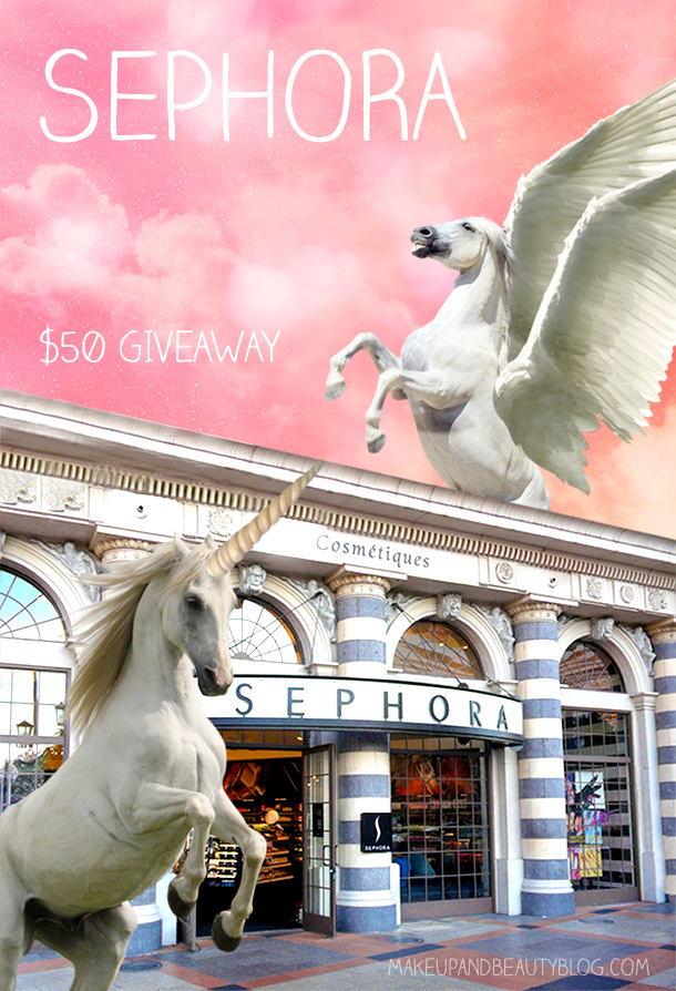 Win a $50 Sephora e-gift card