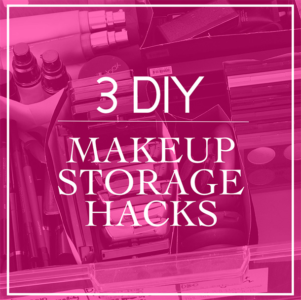 DIY Makeup Storage Hacks: 3 Ways to Repurpose Your Packaging