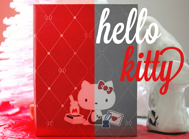 Hello Kitty The Red Bow Beauty Diaries