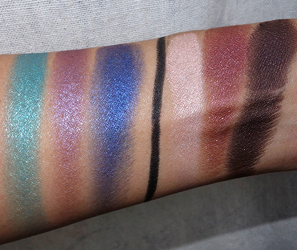 Make Up For Ever Studio Case Swatches
