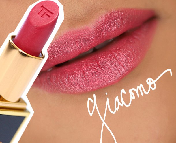 Tom Ford Lips & Boys Giacomo Swatch
