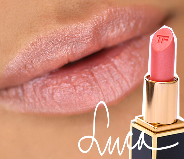 Tom Ford Lips & Boys Luca Swatch