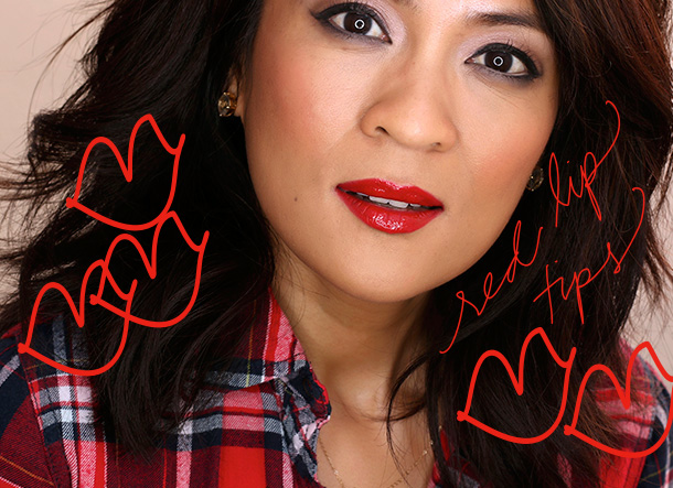 Makeup Tips for Red Lips