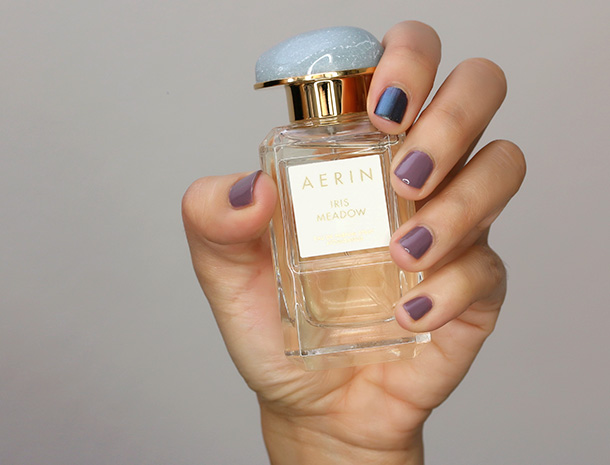 Chanel Nail Colour in Tenderly and Deborah Lippmann Polish in Dream Weaver