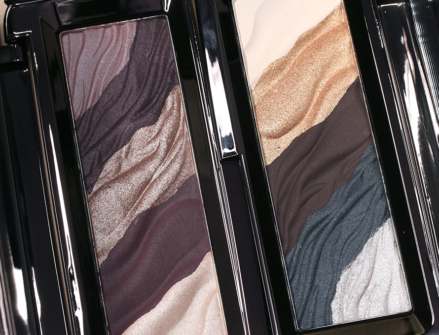 Hourglass Modernist Eyeshadow Palettes in Exposure (left) and Graphite (right)