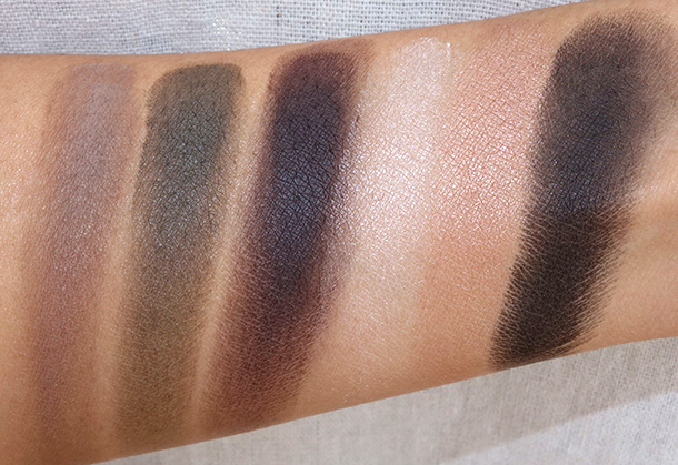 NARS Eyeshadow Palette in Inoubliable Coup D'Oeil Swatches