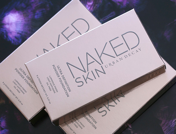 Urban Decay Naked Skin Ultra Definition Powder Foundation Box