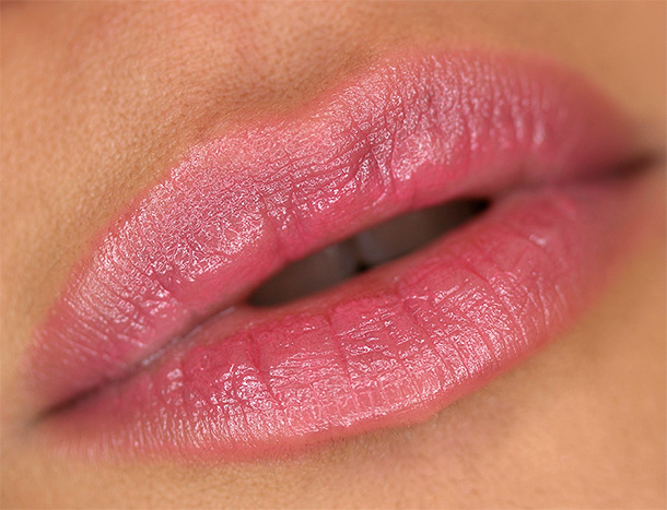 Urban Decay Sheer Revolution Lipstick in Sheer Ladyflower, a sheer rosy pink