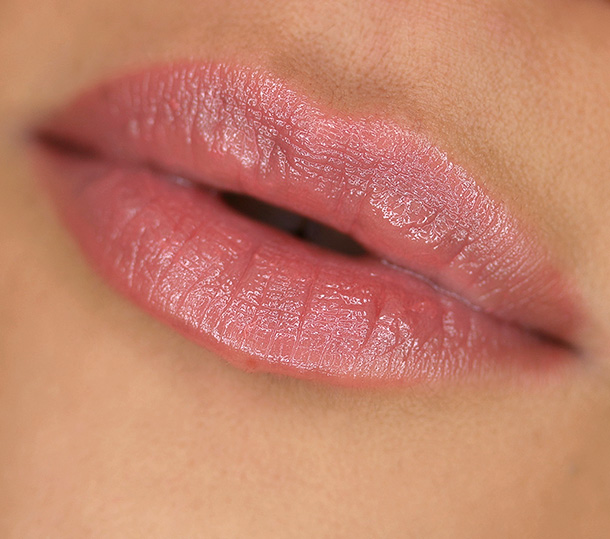 Urban Decay Sheer Revolution Lipstick in Sheer Liar, a sheer pinkish brown nude