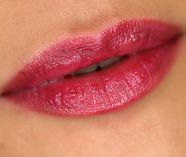 Urban Decay Sheer Revolution Lipstick in Sheer Shame, a sheer berry