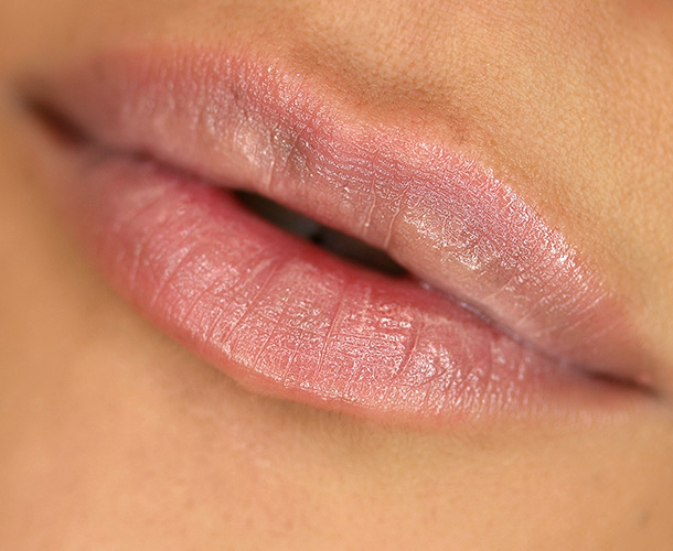 Urban Decay Sheer Revolution Lipstick in Sheer Walk of Shame, a sheer pale nude-pink