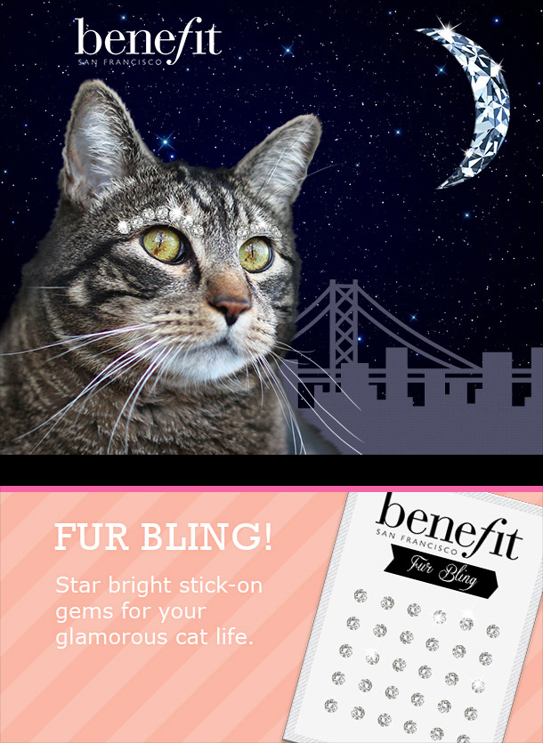 Tabs for Benefit Fur Bling