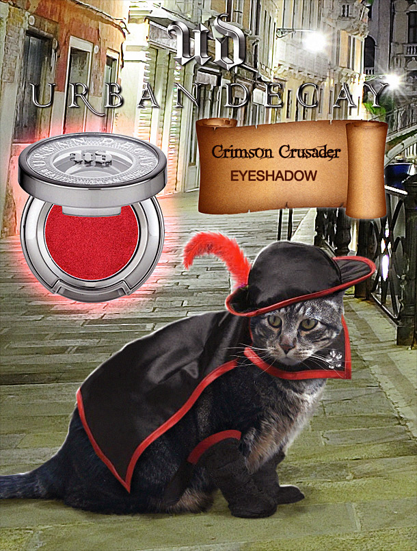 Tabs for Urban Decay Crimson Crusader Eyeshadow