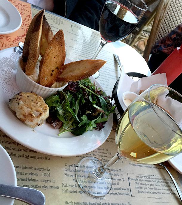 Chez Maman Baked Camembert