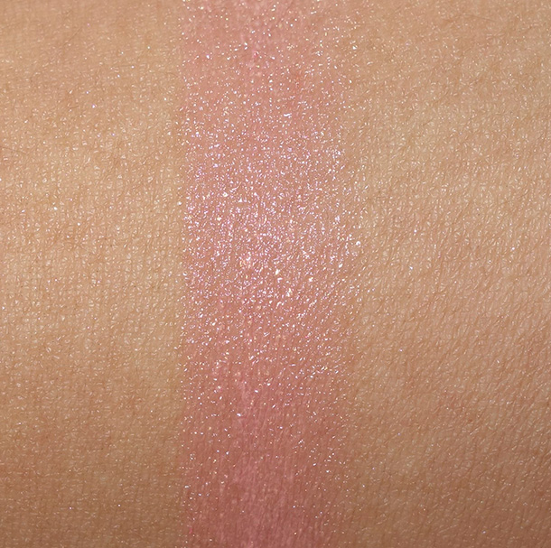 Guerlain KissKiss Lipstick in Rosy Silk Swatch