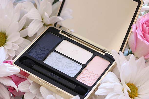 Guerlain Les Tendres Écrin 4 Couleurs' Eyeshadow Palette in Les Nuees