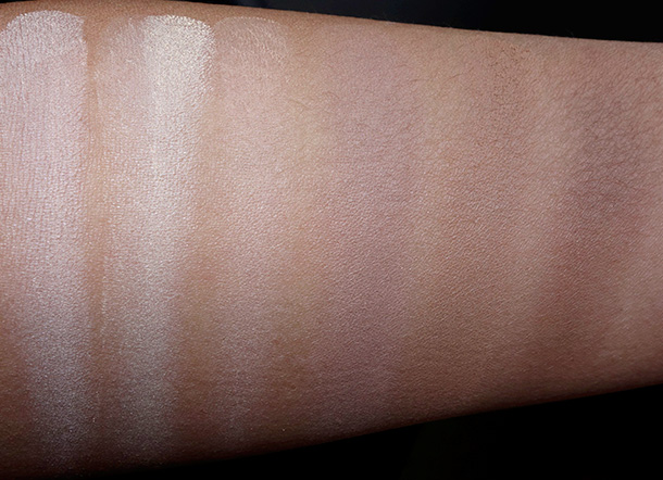 Kat Von D Shade + Light Contour Palette Swatches