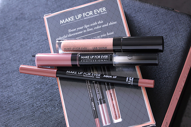 Make Up For Ever Tease Me Nude Lip Trio