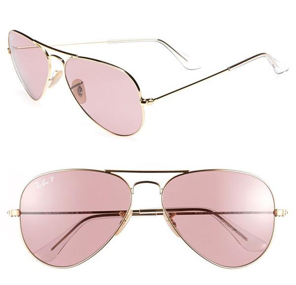 Ray-Ban Original Aviator 58mm Polarized Sunglasses