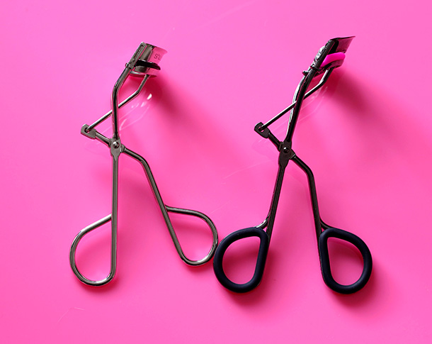 Sephora Collection Show Curl XL (right) with a Shu Uemura Lash Curler (left)