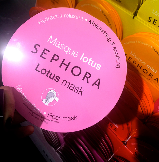 Sephora Lotus Mask