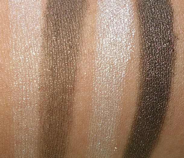 Tom Ford Eye Color Duo in Raw Jade dry (on the left) and wet (on the right)