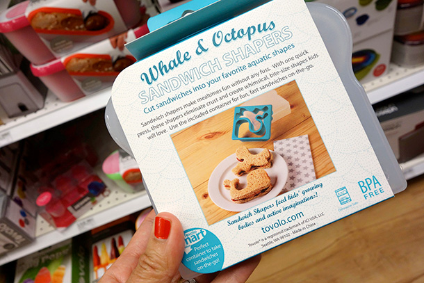 Tovolo Whale & Octopus Sandwich Shapers