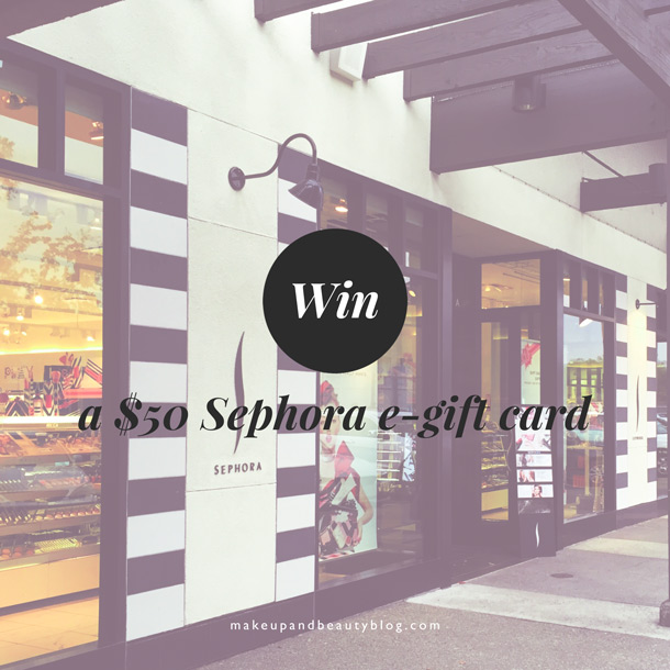 how to win sephora gift card