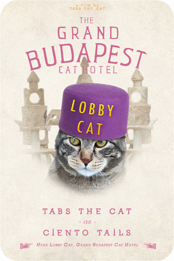 Tabs the Cat, The Grand Budapest Cat Hotel