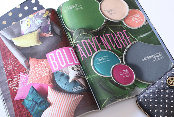 Better Homes and Gardens March 2015, A Bold Adventure!