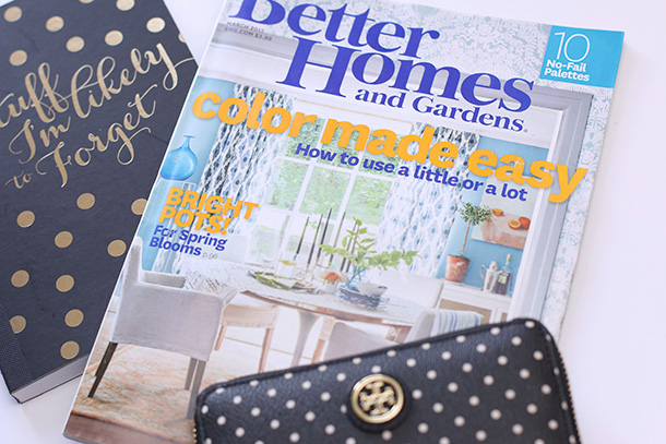 Better Homes and Gardens March 2015