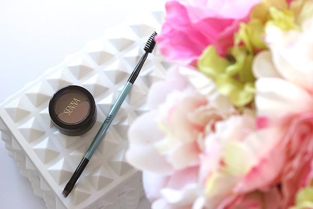 Senna Brow Shaping Powder in Brunette ad Pro Brow Brush