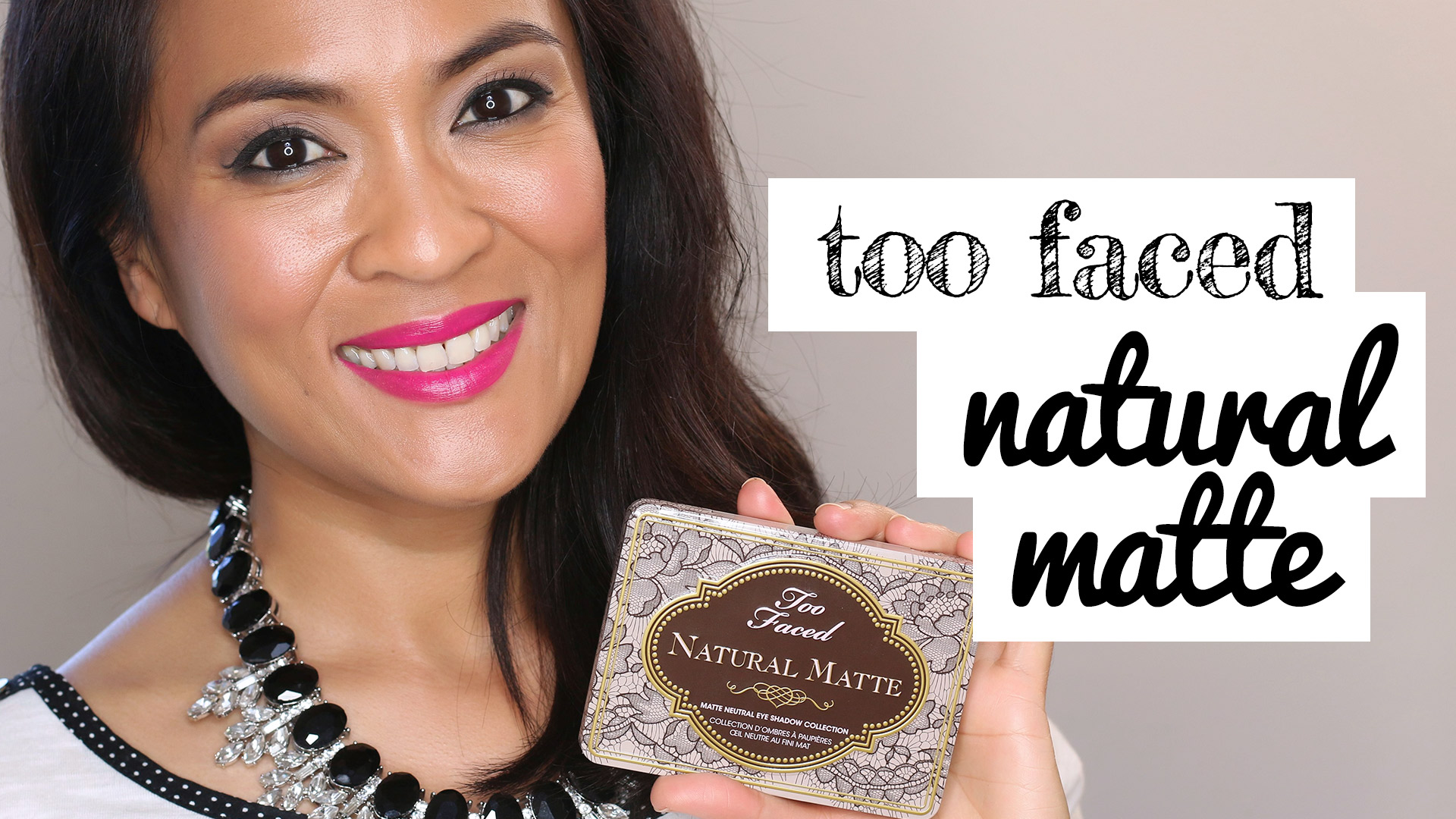 Natural Eye Collection Too Faced Review