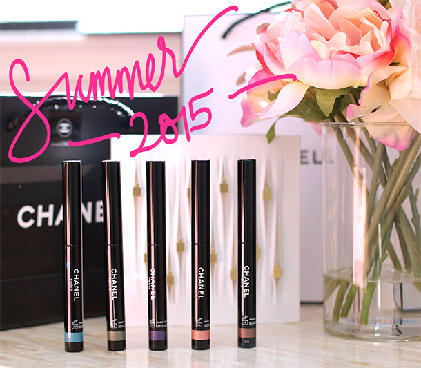 chanel summer 2015 stylo eyeshadow