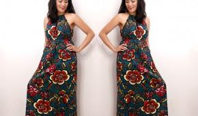 loft paradise halter dress
