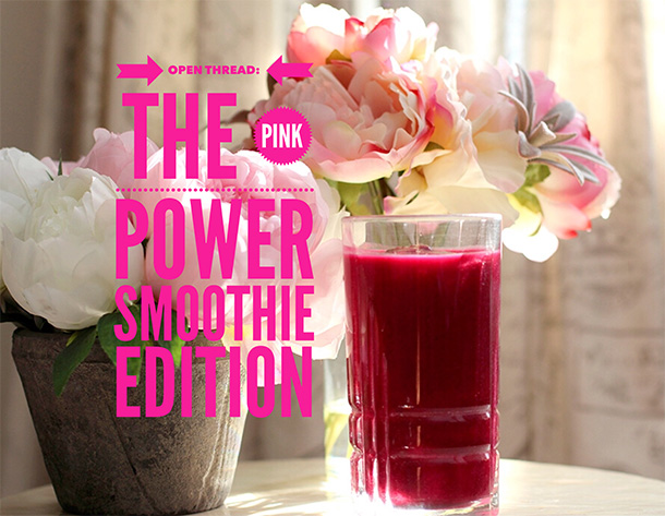 pink power smoothie